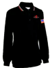 MHSAA Dye Sublimated Baseball Long Sleeve Black Shirt