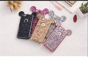 Micky Mouse Bling Necklace Phone Case
