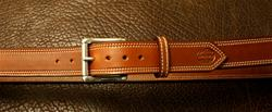 In-Stock 1 1/2 belt Saddle Brown (Please Choose Size)