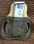 Add Chocolate Bull Hide To Your Holster