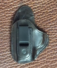 SALE IWB for Kimber Solo 9mm LH Lined Dark Brown
