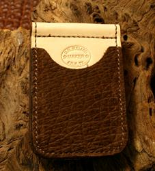 In-Stock Cowboy Wallet -Brown Hippo