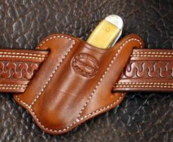 Knife Sheath Forward Slant Trapper Right Side