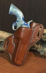 "In-Stock Bodyguard Ruger New Vaquero 4 5/8"" bbl Saddle Tan Lined Right Hand"