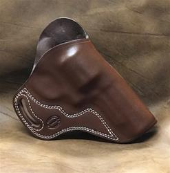 "Sale Combat for S&W N Frame 4""bbl Right Hand Saddle Brown for 1 1/2"" Belt"