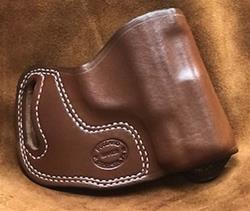 "SALE Crossdraw for S&W M&P Shield .45 Saddle Brown for 1 1/2"" Belt"