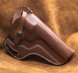 "SALE Crossdraw w/bodyguard S&W N Frame Model 26/629 5.25"" BBL Saddle Brown for 1 1/2"" Belt"