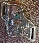 In-Stock Bodyguard for S&W M&P Shield 9/40 Full Skull and Flames LH