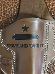 Add Come And Take It/cannon to Holster