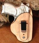 SALE Tuckable IWB for Bersa Thunder .45 RH Rough-Out Natural
