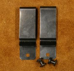 Replacement Belt Clips for Dual Carry holster Set (2)