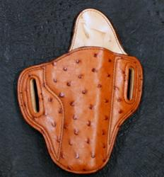 Add Full Quill Ostrich Cognac for Holster