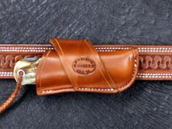 Cross Draw for Case Jumbo Trapper Saddle Brown