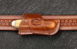 Cross Draw for Case Trapper Saddle Brown