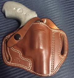 Add Strap and Snap to OWB Holster
