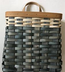 "12"" Two Toned Chipwood Basket"