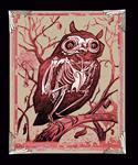 Surreal Series - Archival Paper Print, 'Night of the Owl'- Framed