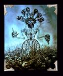 Surreal Series - Archival Paper Print, 'Lady of the Dead'- Framed