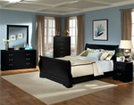 Johnce Sleigh Bed 7-Piece Suite