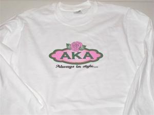 "AKA ""Always in Style"" Short or Long Sleeve T-Shirt"