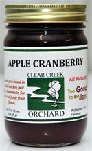 Apple Cranberry Jam, 12 Oz.