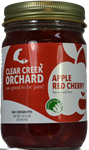 Apple Red Cherry Jam, 12 oz.