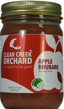 Apple Rhubarb Jam, 12 oz.