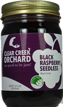 Black Raspberry - Seedless Jam, 12 oz