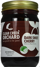 Dark Sweet Cherry Jam, 12 oz.