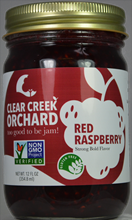 Red Raspberry Jam, 12 oz,