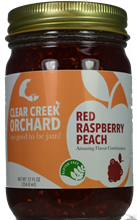 Red Raspberry - Peach Jam, 12 oz.