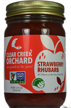 Strawberry Rhubarb Jam, 12 oz.