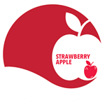 Apple Strawberry Jam, 12 oz.