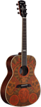 Alvarez AF65GD/F Grateful Dead Artist Series Acoustic Guitar (Montage)