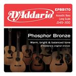 D'Addario Phosphor Bronze Acoustic Bass Strings