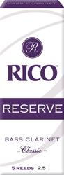 Rico Reserve Bass Clarinet Reeds