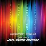 Super-Sensitive Transitions Electric Violin Strings