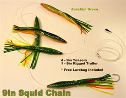 "9"" SFP Machine Squid Chain"