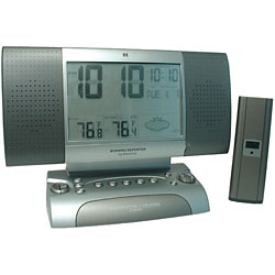 Talking Alarm Clock Memo Radio Weather Center My Vision