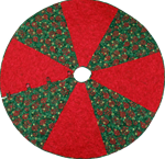 "472087 - One Hour Tree Skirt - 54"" - 56"" Diameter Tree Skirt"