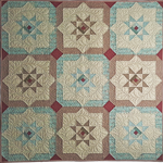 368188 - Shining Log Cabin Star - Lap [48? x 48?], Throw [64? x 80?], Twin [80? x 96?], Full [96? x 96?], Queen [96? x 112?], King [112? x 112?]