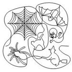 Halloween Set - 23 Automated Quilting Design - RGS026