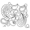 Paisley Set - 19 Automated Quilting Designs - RGS039