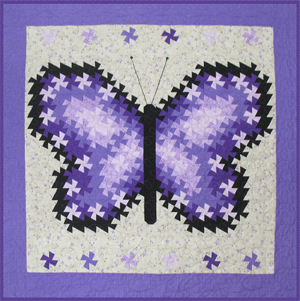 "RGR147 - Fly, Fly Away! - 25"" / 44"" / 75"" Square Wall Hanging"