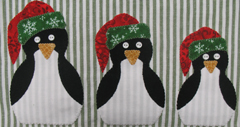 "RGR-P06 - Nesting Penguins – 9 1/2"" x 5 1/2"" Approx"