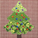 "670P29 - Oh Christmas Tree! - 6"" x 5"""