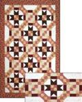 468091 - Ring-Go-Star - 36 in. x 20 in. Table Runner & Twin to King