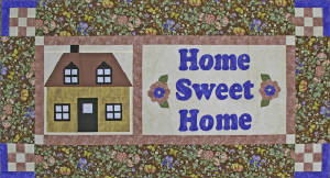 "RGR111 - Home Sweet Home - 18"" x 43"""