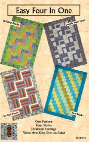 RGR118 - Easy Four In One - $8.00 – Throw through King