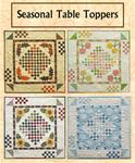 418137 - Seasonal Table Toppers - 29 1/2 in.  Square [4 toppers]